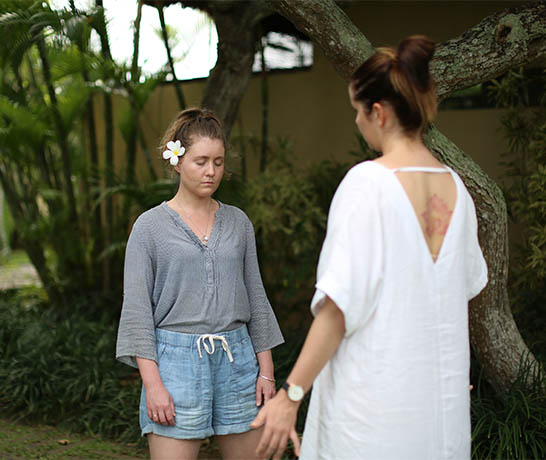 Clare in Bali